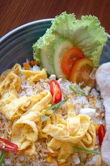Traditionelles essen aus bandung, indonesien.