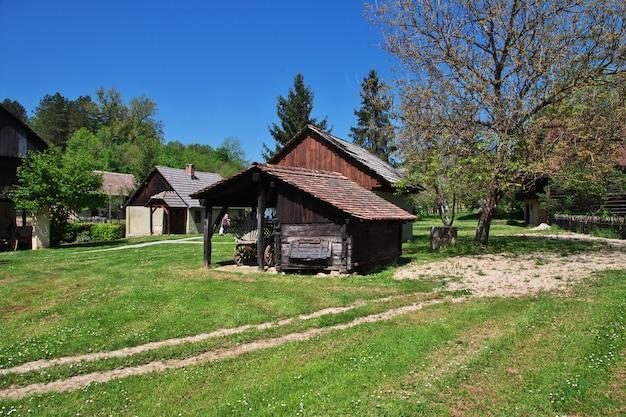 Traditionelles kroatisches dorf