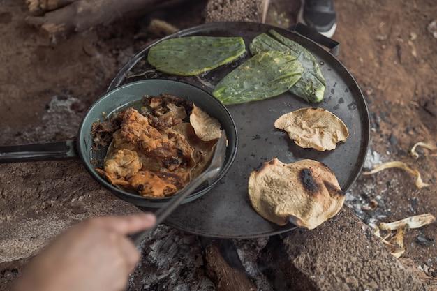 Traditionelles mexikanisches essen