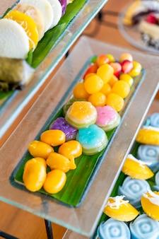 Traditionelles thailändisches dessert