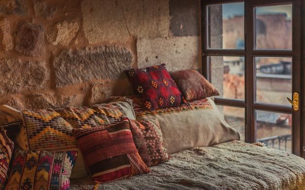 Traditionelles türkisches wohnzimmer