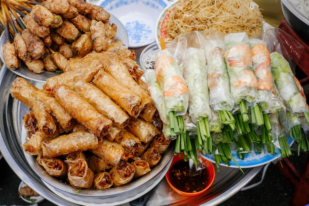Traditionelles vietnamesisches street food