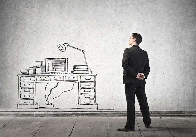 Träume von einem büro