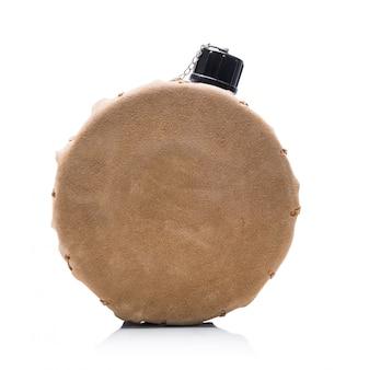 Tragbare runde alkohol-flachmann