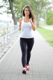 Training auf der straße