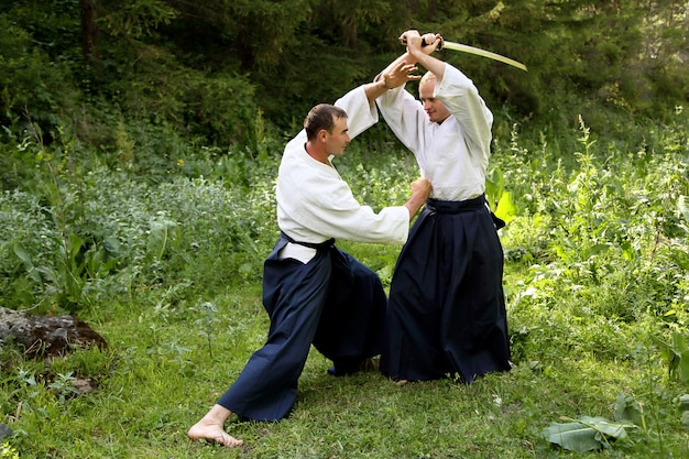 Training kampfkunst aikido