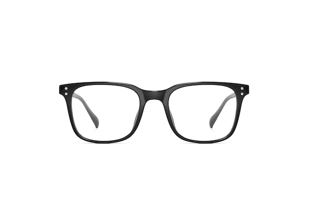 Transparente gläser isoliert
