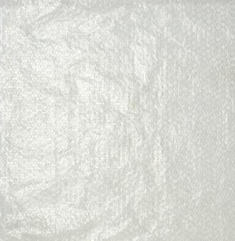 Transparente verpackungsfolie mit luftblasen zur verpackung von o