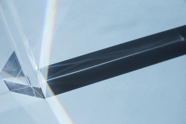 Transparentes prisma
