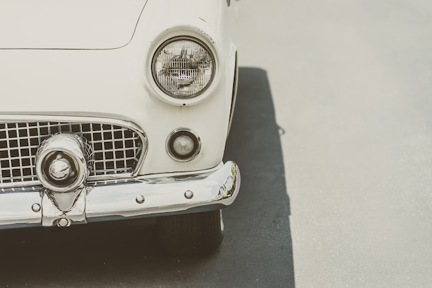 Transportfahrzeug klassisch stoßstange chrom
