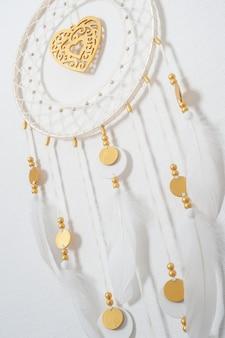 Traumfänger mit goldenem dekor