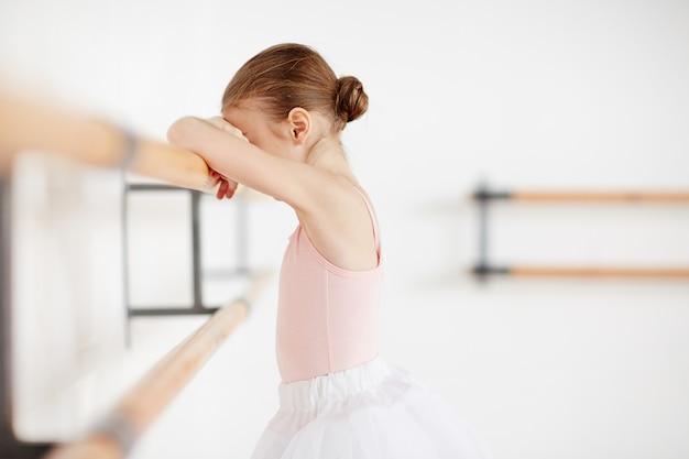 Traurige ballerina