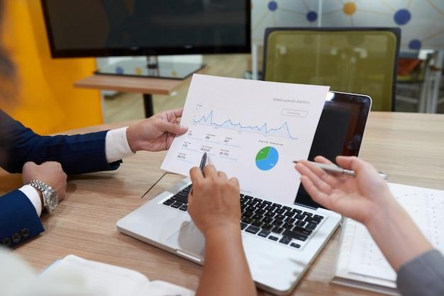 Treffen der finanzmanager