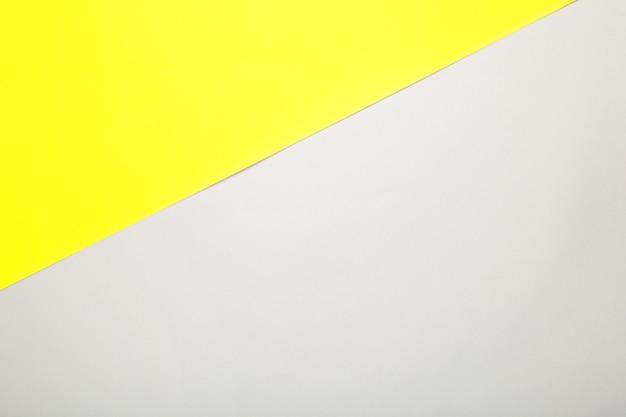 Trendige farben, gelb und grau