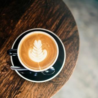 Trendiges café in der stadt