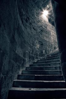 Treppe zum heiden hdr treppe