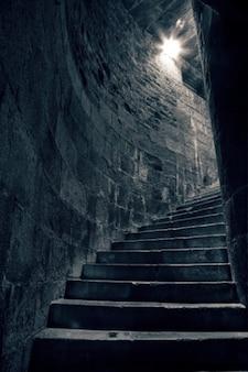 Treppe zum heiden hdr