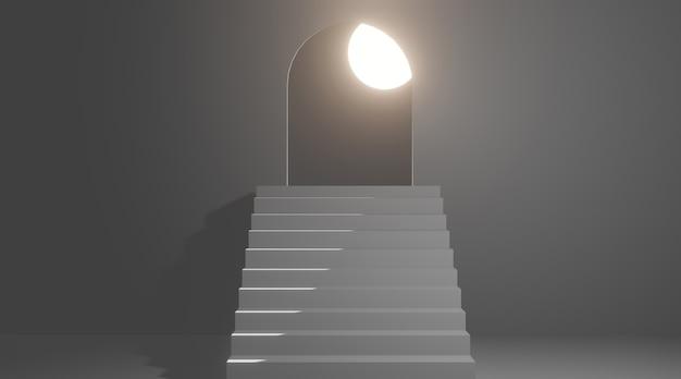 Treppe zum mond.
