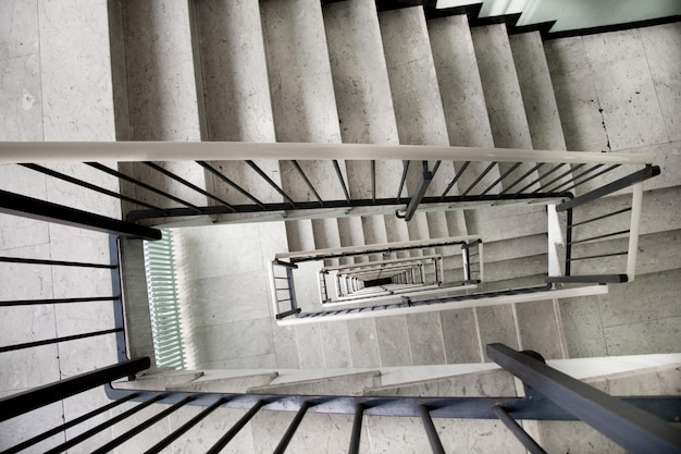 Treppenhaus im alten gebäude
