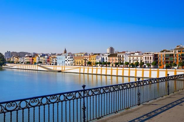 Triana barrio von sevilla andalusien