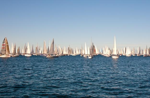Triest, barcolana 2009 - die regatta von triest
