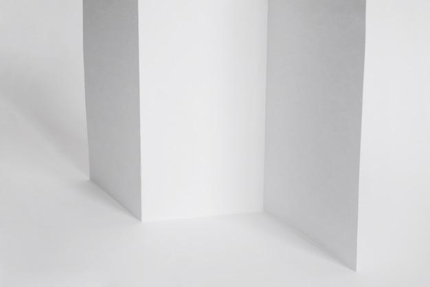 Trifold papier mock-up