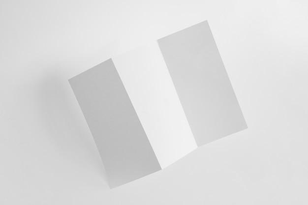 Trifold papiermodell