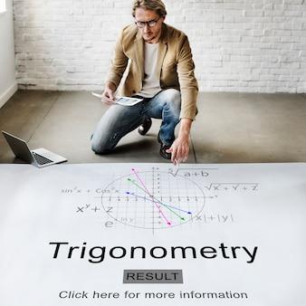 Trigonometrie algebra gleichung wissen lernkonzept
