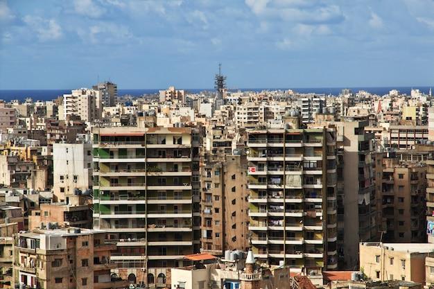 Tripolis-stadt im libanon, mittlere osten