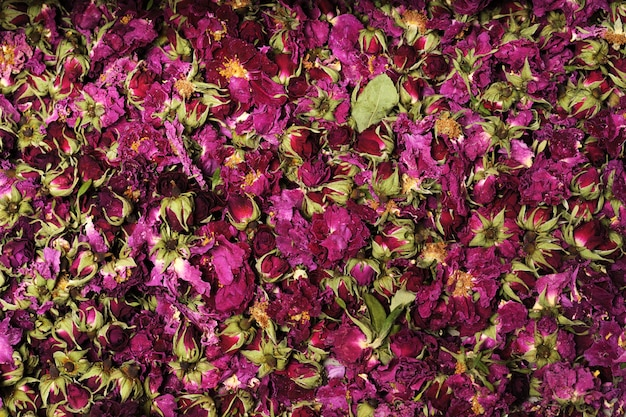 Trockenblumen oberfläche