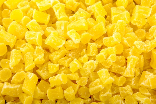 Trockene ananas