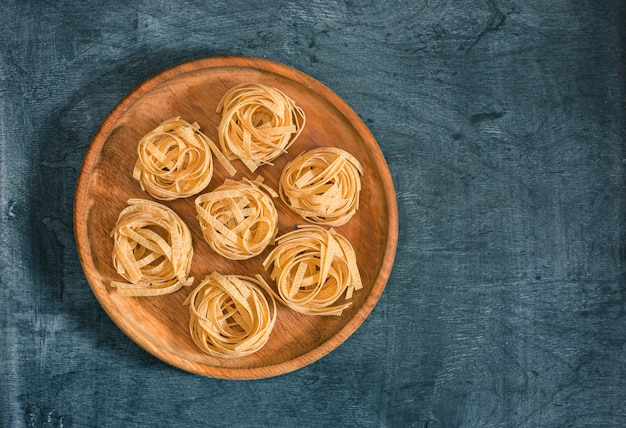Trockene italienische pasta