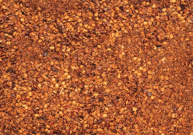 Trockener chili-pfeffer-textur-hintergrund