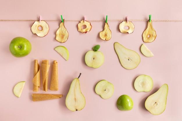 Trockenfrüchte-chips.