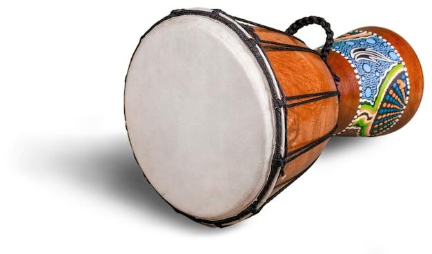 Trommel afrikanische trommel jembe holzgeschnitzte trommel trommelfell leder afrikanische kultur