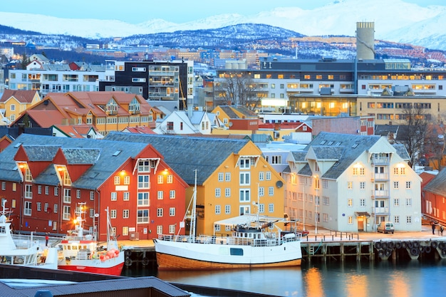 Tromso stadtbild