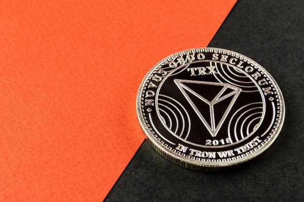 Tron trx ist eine moderne art des austauschs und des web-marktes