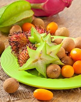 Tropische frucht in thailand