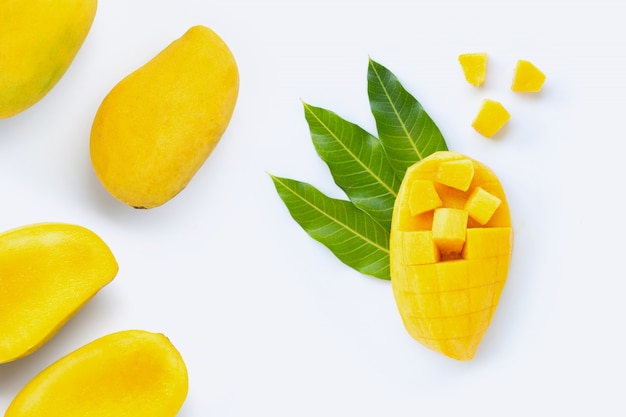 Tropische früchte, mango