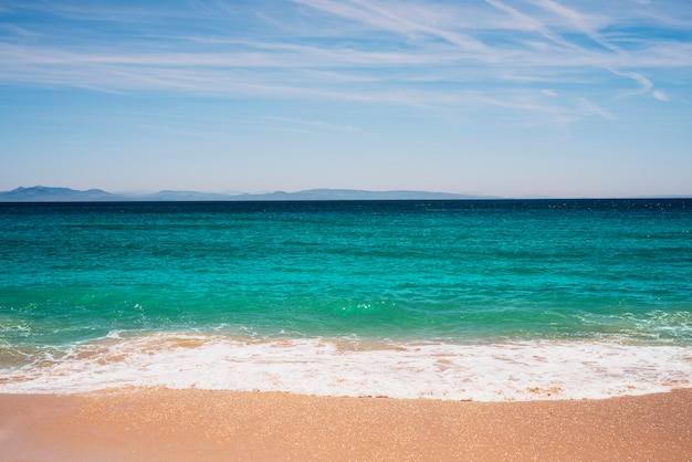 Tropische strandlandschaft
