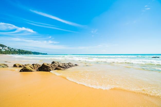 Tropischen außen reise natürliche sonne