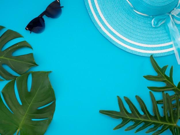 Tropischer sommerreiselebensstil