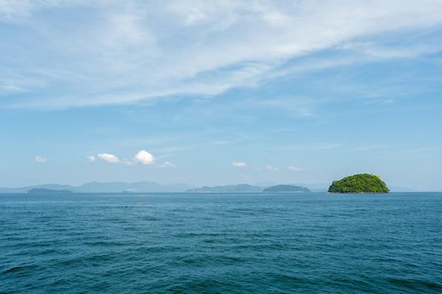 Tropisches meer. urlaub.