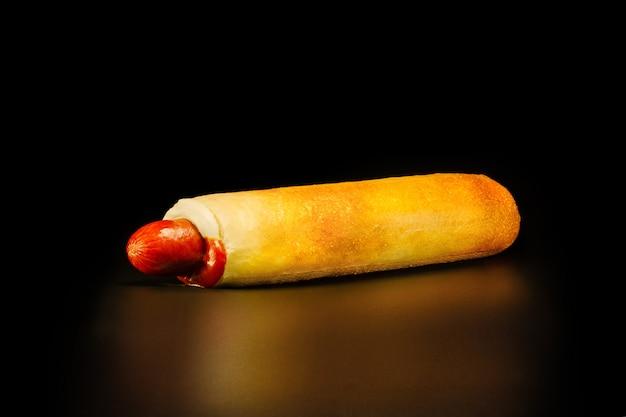 Tschechischer hot dog ist die häufigste mahlzeit für unterwegs