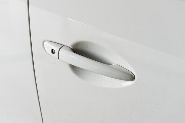 Tür auto closeup detail