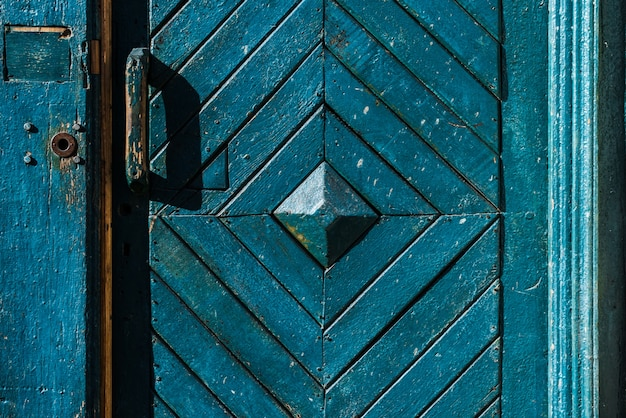 Tür mit einem diamant-design