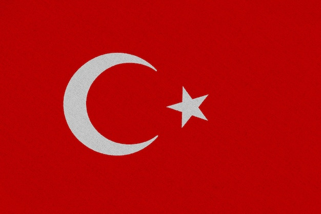 Türkei stoffflagge