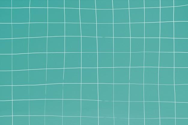 Türkis verzerrter geometrischer quadratischer fliesenbeschaffenheitshintergrund