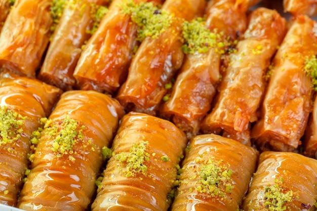 Türkisches baklava dessert