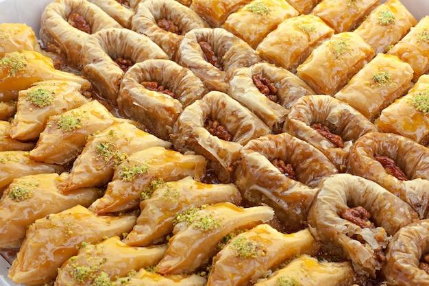 Türkisches ramadan-nachtisch-baklava